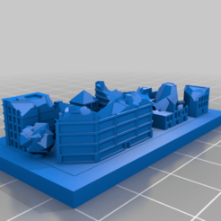Download free STL file GreebleCity Ruins: Oops all the ruins. • 3D printable design, Fisk400