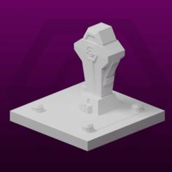 Imprimir en 3D gratis GreebleCity Cyberpunk: Arte Público, Fisk400