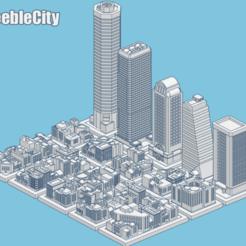 Download free 3D printer templates GreebleCity, Fisk400
