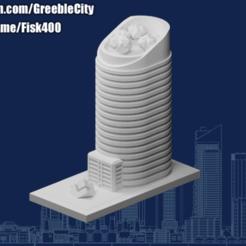 Descargar Modelos 3D para imprimir gratis GreebleCity: Oficina de lujo (Únete a mi Patreón), Fisk400