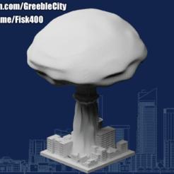 20201031.png Télécharger fichier STL gratuit Greeblecity : Le grand boom • Modèle à imprimer en 3D, Fisk400