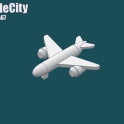 Impresiones 3D gratis GreebleCity: AirGreeble A67, Fisk400