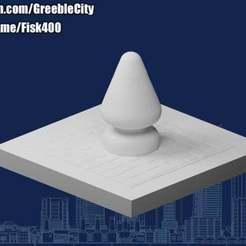 20201206.jpg Télécharger fichier STL gratuit GreebleCity : L'arbre de Noël parisien • Modèle à imprimer en 3D, Fisk400