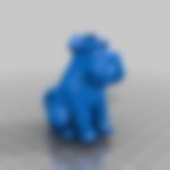 Descargar archivo 3D gratis Adorno navideño de Schnauzer, Fisk400