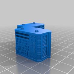 20210107.png Télécharger fichier STL gratuit GreebleCity Megatower 8 : Demi-pièce I • Objet pour imprimante 3D, Fisk400