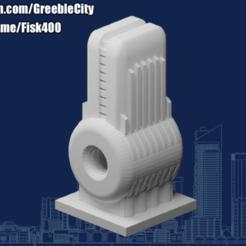20200908.png Download free STL file GreebleCity Cyberpunk: Tachyon Reactor • 3D print template, Fisk400