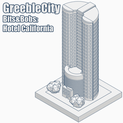 GreebleCityHotelCalifornia.png Download free STL file GreebleCity Bits&Bobs: Hotel California • 3D printer template, Fisk400