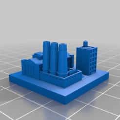 20210105.png Télécharger fichier STL gratuit GreebleCity : Thee Masts Holdings • Objet à imprimer en 3D, Fisk400