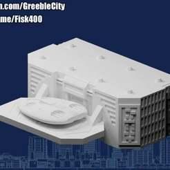 20201204.jpg Télécharger fichier STL gratuit GreebleCity • Objet à imprimer en 3D, Fisk400