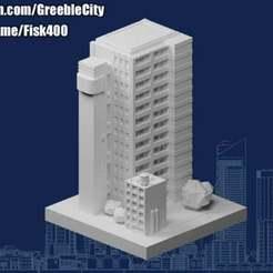 20201201.jpg Télécharger fichier STL gratuit GreebleCity • Objet à imprimer en 3D, Fisk400