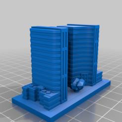20201224.png Télécharger fichier STL gratuit GreebleCity : Place raffinée • Design pour imprimante 3D, Fisk400