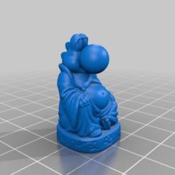 Descargar Modelos 3D para imprimir gratis Buda Yoshi, Fisk400