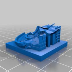 20201019.png Télécharger fichier STL gratuit Ruines de GreebleCity : Un virage terrible • Modèle imprimable en 3D, Fisk400