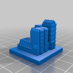 20200913.png Download free STL file GreebleCity Cyberpunk: Scifi Neighbourhood small • Model to 3D print, Fisk400