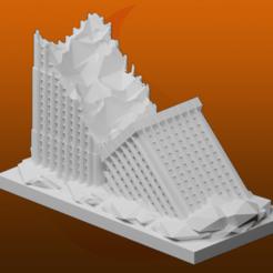 Descargar diseños 3D gratis Ruinas de GreebleCity: Rascacielos II, Fisk400