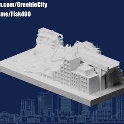 20201012.png Télécharger fichier STL gratuit GreebleCity : Une route cassée • Plan à imprimer en 3D, Fisk400