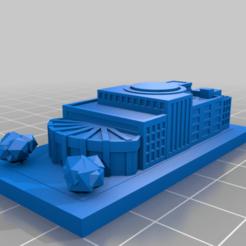 20210102.png Télécharger fichier STL gratuit GreebleCity : Centre d'exposition • Design à imprimer en 3D, Fisk400