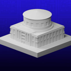 Download free 3D model GreebleCity: Library, Fisk400