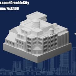 20201028.png Télécharger fichier STL gratuit GreebleCity Cyberpunk : les grandes piles (Haut) • Design pour impression 3D, Fisk400