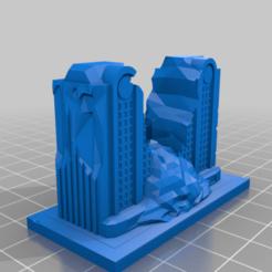 20201215.png Télécharger fichier STL gratuit Ruines de GreebleCity : U Ruined it • Modèle pour imprimante 3D, Fisk400