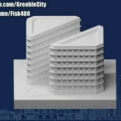 20201211.jpg Télécharger fichier STL gratuit Greeblecity : Ruelle diagonale • Design imprimable en 3D, Fisk400