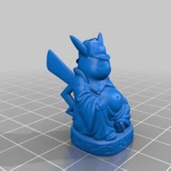 Descargar archivo 3D gratis Buda del Detective Pikachu, Fisk400