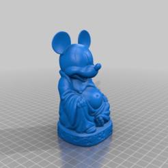 Descargar archivos STL gratis Buda del ratón, Fisk400