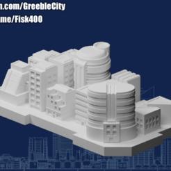 20201017.png Télécharger fichier STL gratuit GreebleCity Megatower 16 : un quartier sur les toits • Objet pour impression 3D, Fisk400