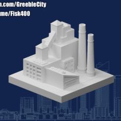 20200917.png Download free STL file GreebleCity: Cereal Factory • 3D printer model, Fisk400