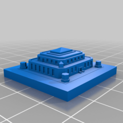 20Patrons.png Download free STL file GreebleCity: Secure Gold Depository [20 Patron celebration!] • 3D print object, Fisk400