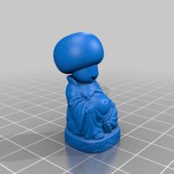 Descargar diseños 3D gratis Buda de los sapos, Fisk400