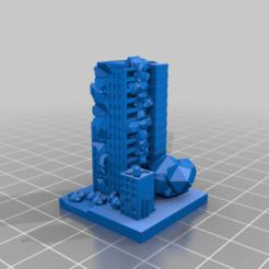 20210118.png Télécharger fichier STL gratuit Ruines de GreebleCity : Haute-ville touffue • Design imprimable en 3D, Fisk400