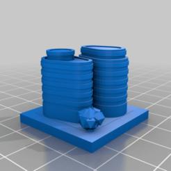20210109.png Télécharger fichier STL gratuit GreebleCity : Flipper Inc • Design pour imprimante 3D, Fisk400