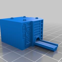 20201216.png Télécharger fichier STL gratuit GreebleCity Megatower 16 : Quarter Tower With Road • Modèle imprimable en 3D, Fisk400