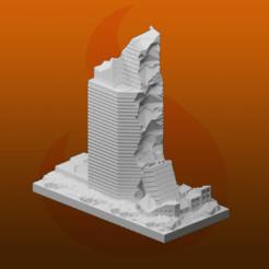 Descargar archivos 3D gratis Ruinas de GreebleCity: Rascacielos, Fisk400