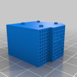 20201218.png Télécharger fichier STL gratuit GreebleCity Megatower 16 : Quarter Tower • Modèle pour impression 3D, Fisk400