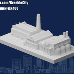 20200928.png Download free STL file GreebleCity: Final Factory • 3D printable model, Fisk400