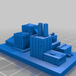 20200909.png Download free STL file GreebleCity Cyberpunk: More Factories • 3D print object, Fisk400
