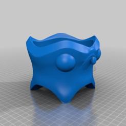 Download free 3D printing files Derpy Flower Pot, Fisk400