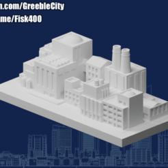 Download free STL file GreebleCity: Factory Park • 3D printer template, Fisk400