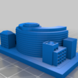 Download free 3D printing designs GreebleCity: Embassy, Fisk400