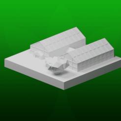 Descargar archivo 3D gratis GreebleCity Farms: Invernadero, Fisk400