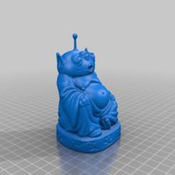 Descargar modelos 3D gratis Buda del Planeta Pizza, Fisk400