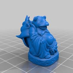 Download free 3D printer model Slowbro Buddha, Fisk400