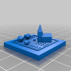 20201007.png Download free STL file GreebleCity: Burial place • Design to 3D print, Fisk400