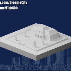 20201018.png Télécharger fichier STL gratuit GreebleCity : Maison sur la colline • Objet pour imprimante 3D, Fisk400