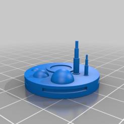 Impresiones 3D gratis GreebleCity Cyberpunk: Techo del Gran Tronco, Fisk400