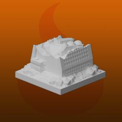 Descargar archivos STL gratis Ruinas de GreebleCity: Rascacielos III, Fisk400