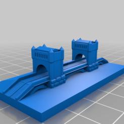 20201011.png Télécharger fichier STL gratuit GreebleCity : Le vieux pont • Objet pour impression 3D, Fisk400