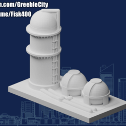 Download free STL file GreebleCity: Refinery • Design to 3D print, Fisk400